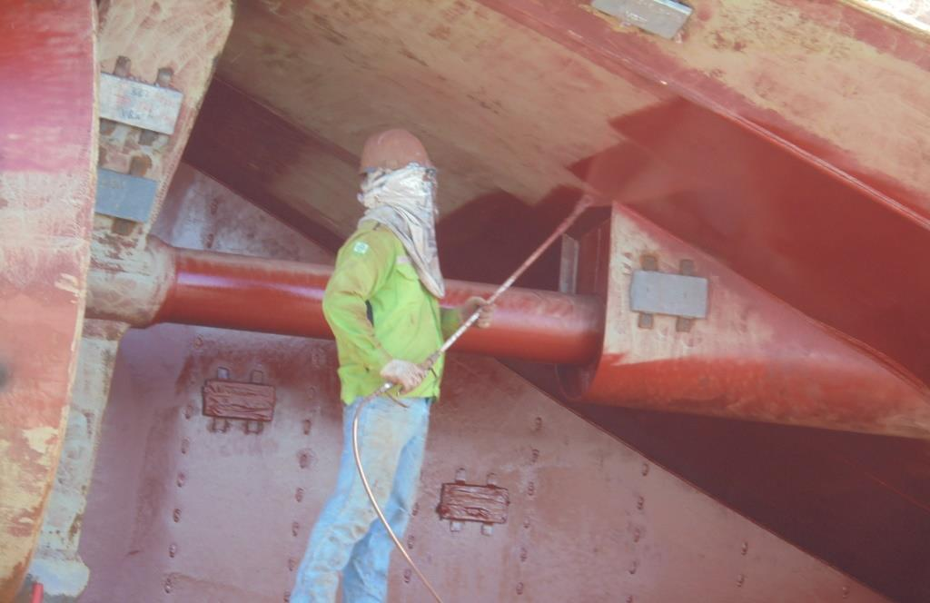 Proses coating atau pengecatan